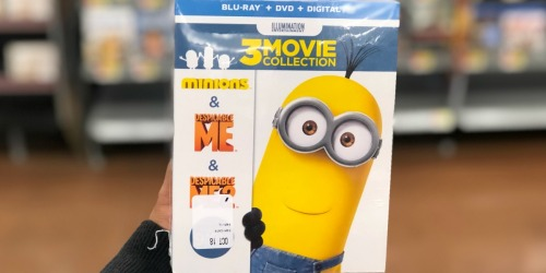 Amazon: Despicable Me 3-Movie Collection Blu-Ray Combo Only $13.99 Shipped + More