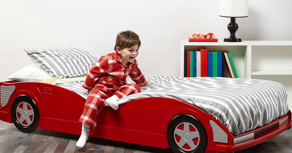 Donco Kids Racecar Bed Just 21294 Shipped Today Only