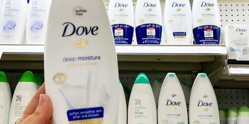 Amazon: Dove Body Wash 4-Pack Only $11 Shipped