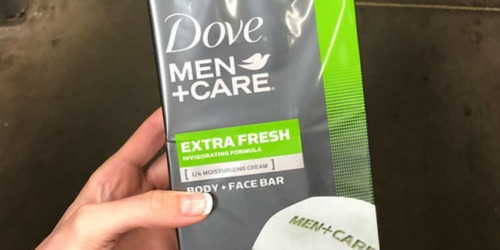 Dove Men+Care 20-Count Bar Soap Only $14 Shipped on Amazon (Just 75¢ Each) + More