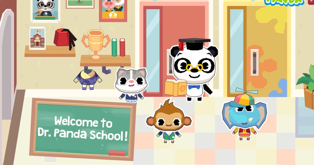 Dr. Panda School App
