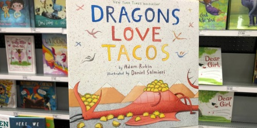 Dragons Love Tacos Book w/ Plush Just $9.98 on Amazon (Regularly $19)