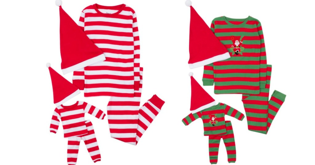 Elf Pajama Sets