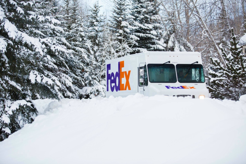 FedEx holiday delivery
