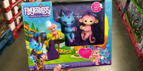 Sam's Club: WowWee Fingerlings See-Saw Playset w/ 2 Fingerlings Only $16.71 (Regularly $27)