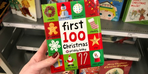 First 100 Christmas Words Board Book Just $3.49 Shipped (Regularly $7)