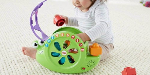 Fisher-Price Rock 'n Sort Snail Pail Only $10