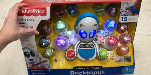 Fisher-Price Think & Learn Rocktopus Only $26.52 Shipped at Amazon (Regularly $60)