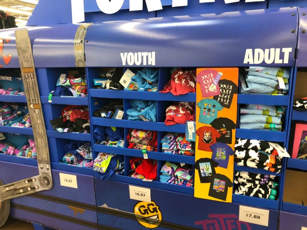 Fortnite T-shirts at Walmart