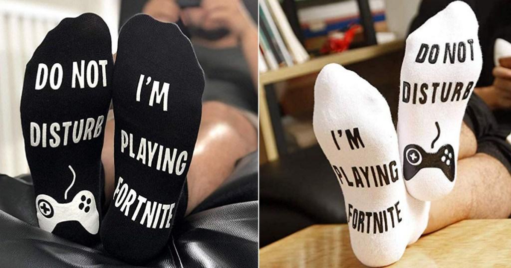 Fortnite gaming socks