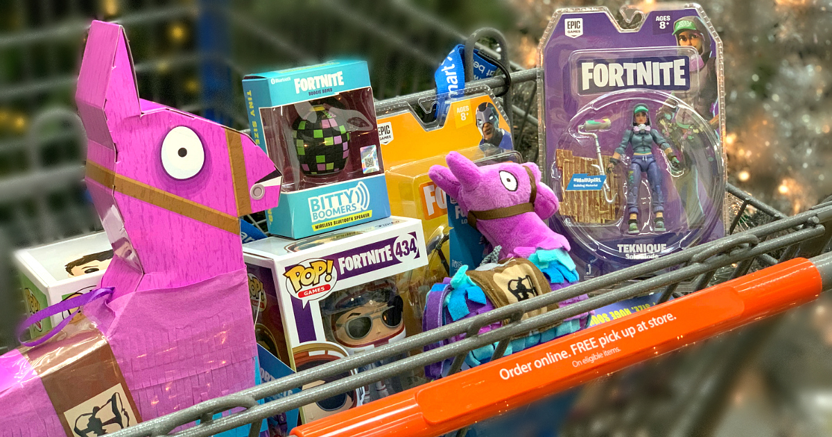 best deals fortnite toys loot – shopping cart with Fortnite toys