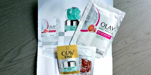 Request FREE Olay Whips, Eye Gel & Cleansing Cloths Samples
