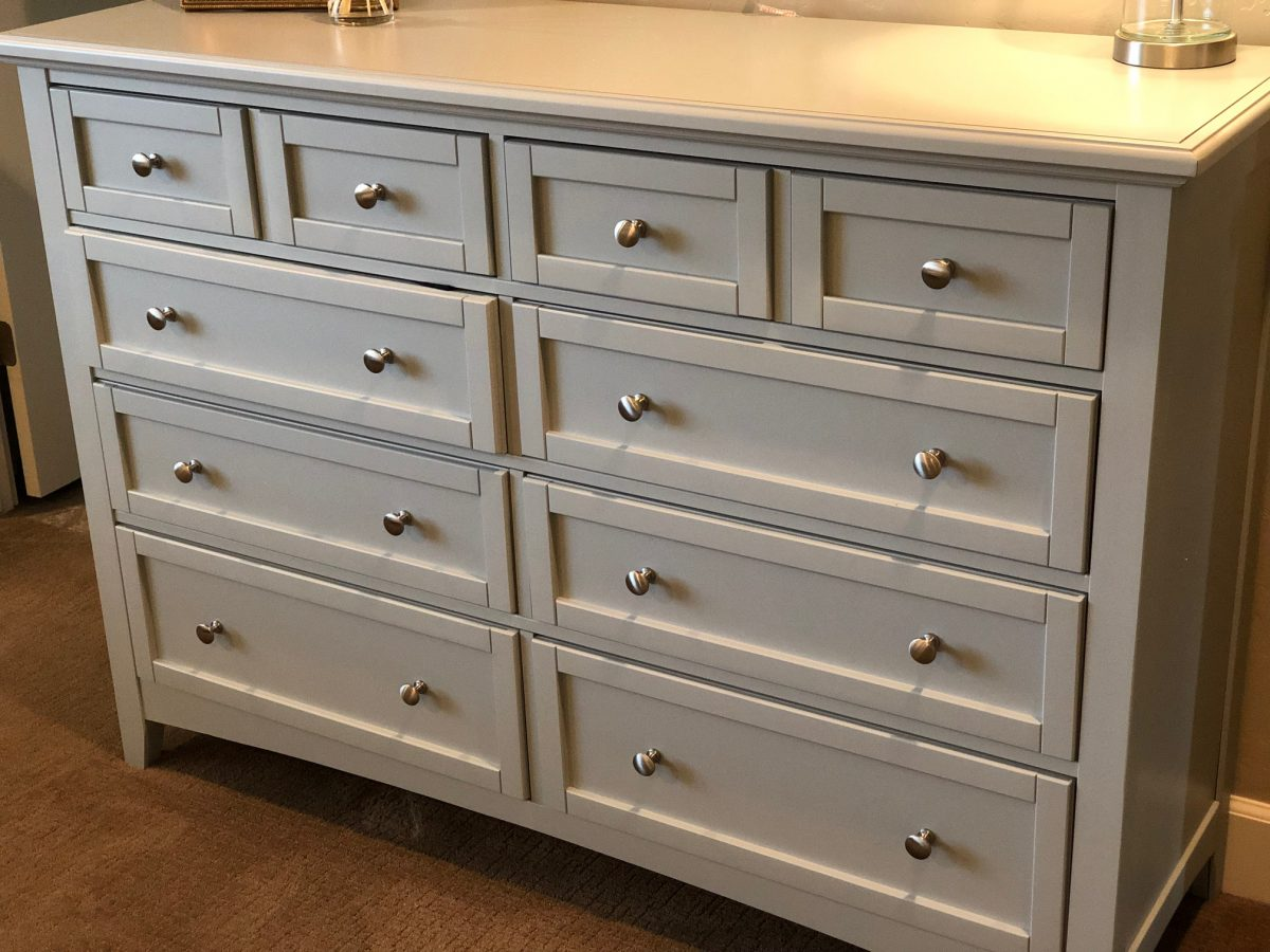 This Wayfair dresser came fully assembled