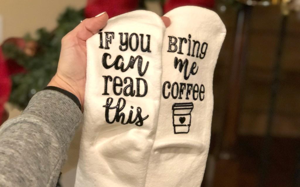 Gift Guide - Fun socks stocking stuffers
