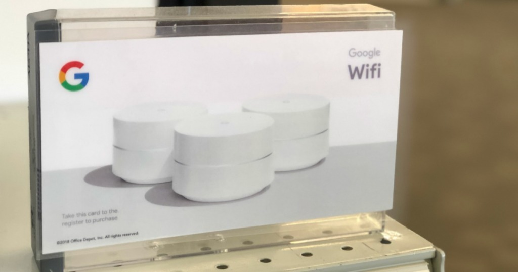 Google WiFi Router 3-Pack w/ 2 WiFi Smart Plugs Only $199