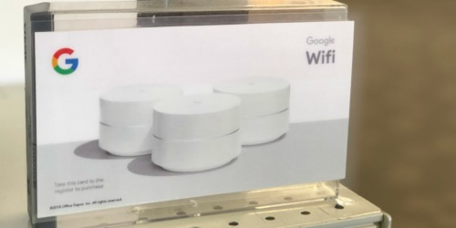 Google WiFi Router 3-Pack w/ 2 WiFi Smart Plugs Only $199 Shipped (Regularly $290)