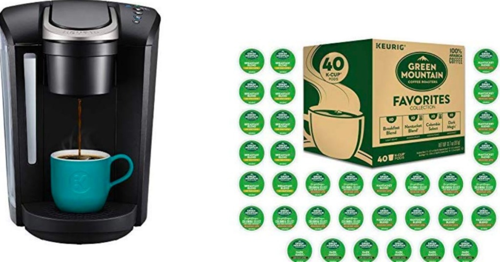 Amazon Keurig K Select Single Serve Coffee Maker And 40 K Cups Only