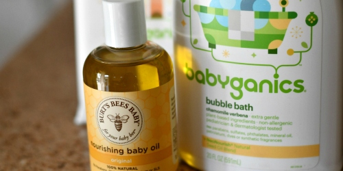 FREE Baby Bundle with $20 Grove Order (Includes Burt's Bees, Babyganics, WaterWipes & More!)