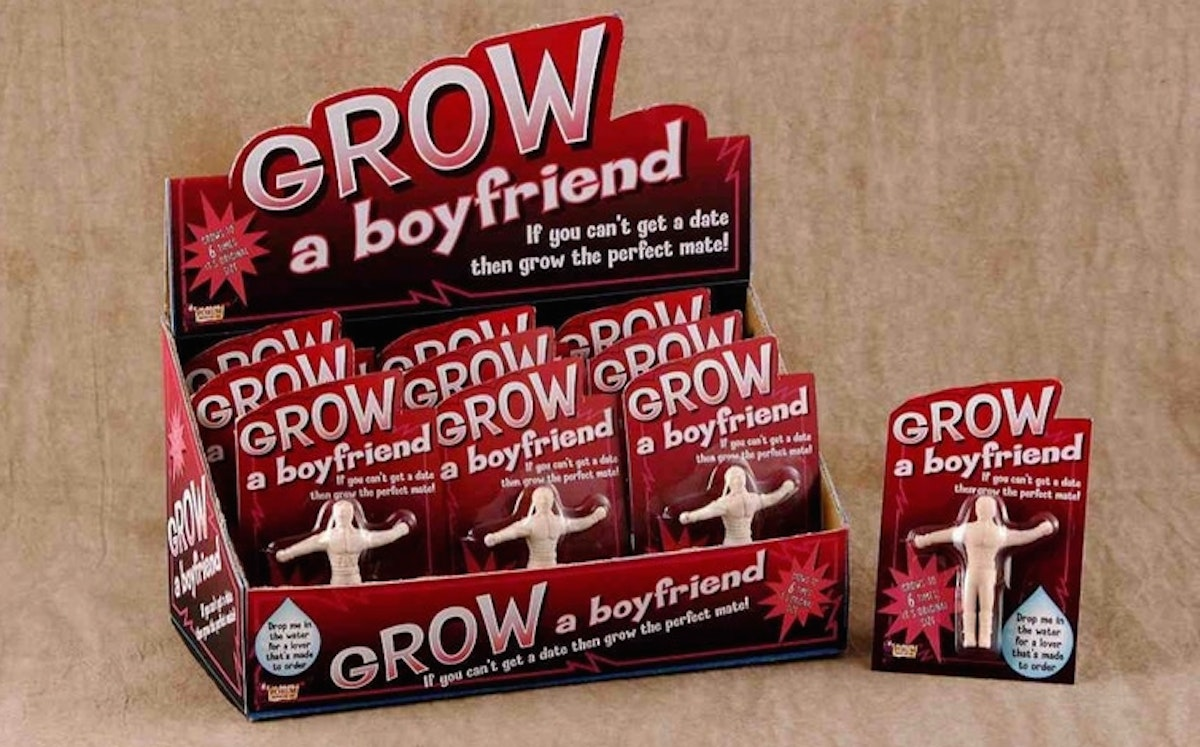 White Elephant Gifts, Gag Gifts, Funny Gift Ideas – Grow a boyfriend