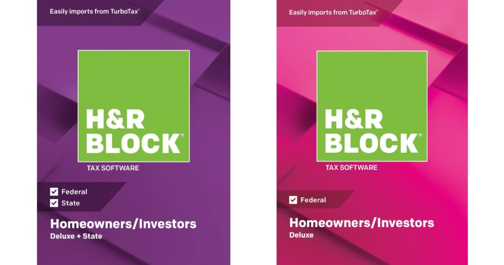 H&R Block 2018 Deluxe Tax Software Only $14 97 at Walmart + More