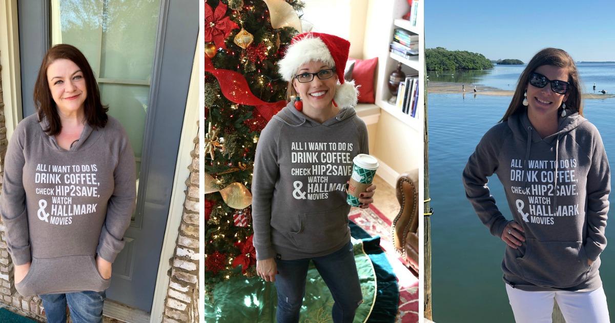 Hip2Save Christmas Sweatshirts