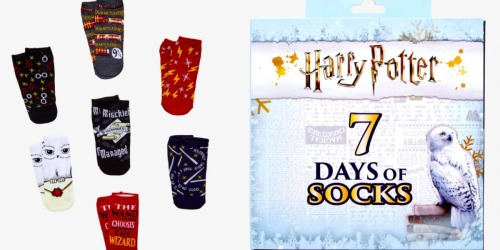 Hot Topic: Up to 50% Off Harry Potter Socks, Slipper Boots, Umbrellas & More