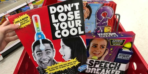 Up to 85% Off Hasbro Games at Target (Speech Breaker, Don't Lose Your Cool & More)