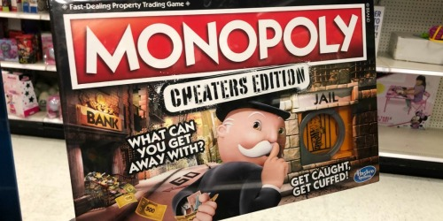 Monopoly Cheaters Edition Only $8 at Amazon (Regularly $20)