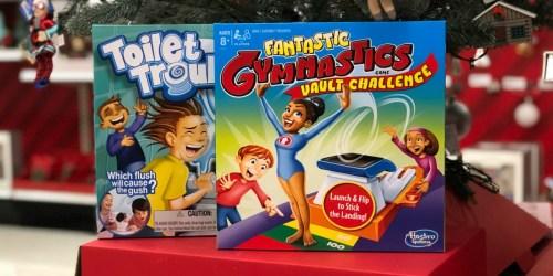 Hasbro Fantastic Gymnastics Board Game Only $9.79 at Target (Regularly $20) & More