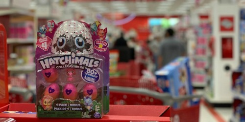 Hatchimals CollEGGtibles 4-Pack as Low as $4 Each at Target