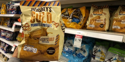 Hershey's Gold Peanuts & Pretzels Classic 10oz Bags Only $1.33 at Target