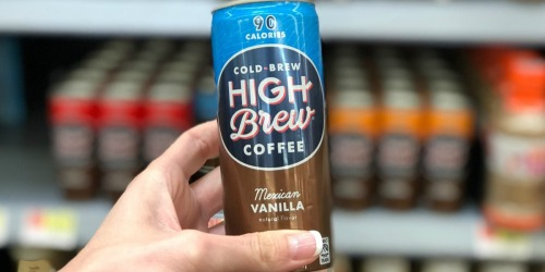 Free High Brew Cold Brew Coffee for Kroger & Affiliate Shoppers (Must Load eCoupon Today)
