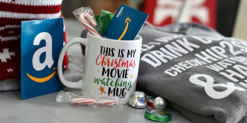 Don't Forget! Enter to Win Cozy Hip2Save Sweatshirt, Mug, AND $50 Amazon Gift Card