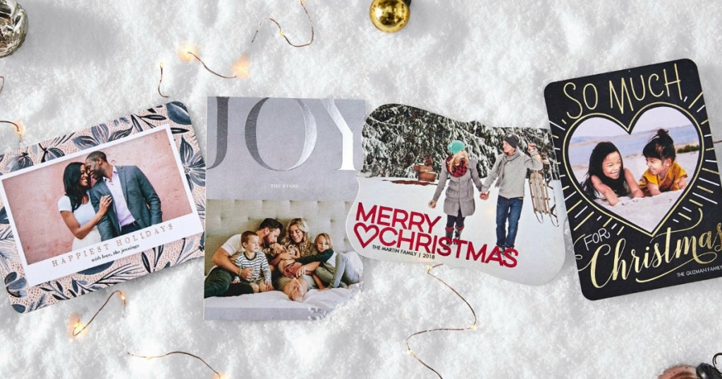 tiny prints personalized holiday cards