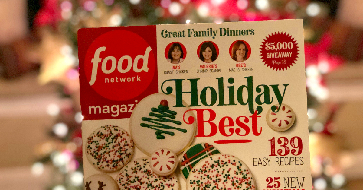 best magazine subscriptions gifts – Food Network Magazine