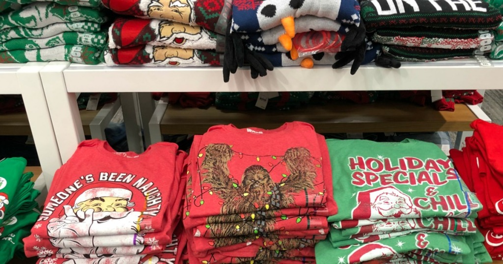 40 Off Ugly Holiday Sweaters Tees At Target In Store Online
