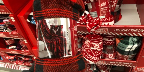 Holiday Throws Only $4.99 & More at ALDI