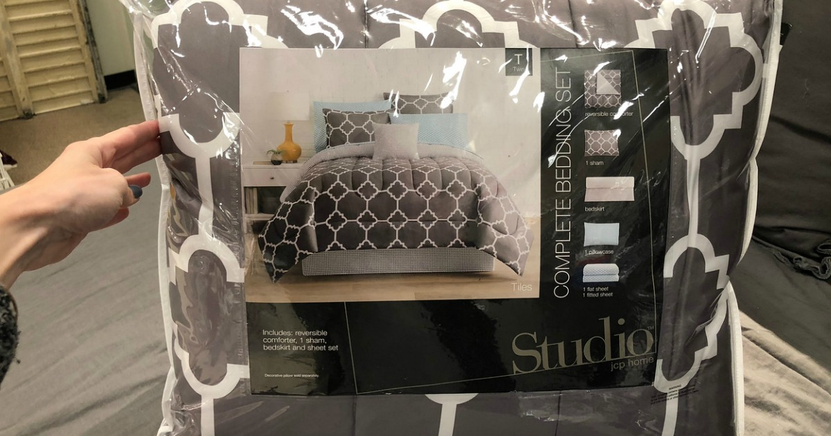 Home Expressions Complete Bedding Sets Only 27 99 At Jcpenney