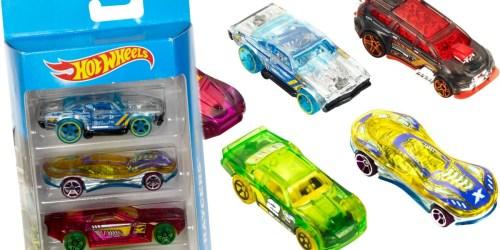 Walmart.com: Hot Wheels 5-Car Gift Pack Only $3.97 (Regularly $7)