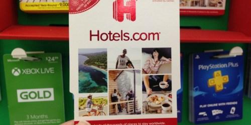 $100 Hotels.com eGift Card Only $85