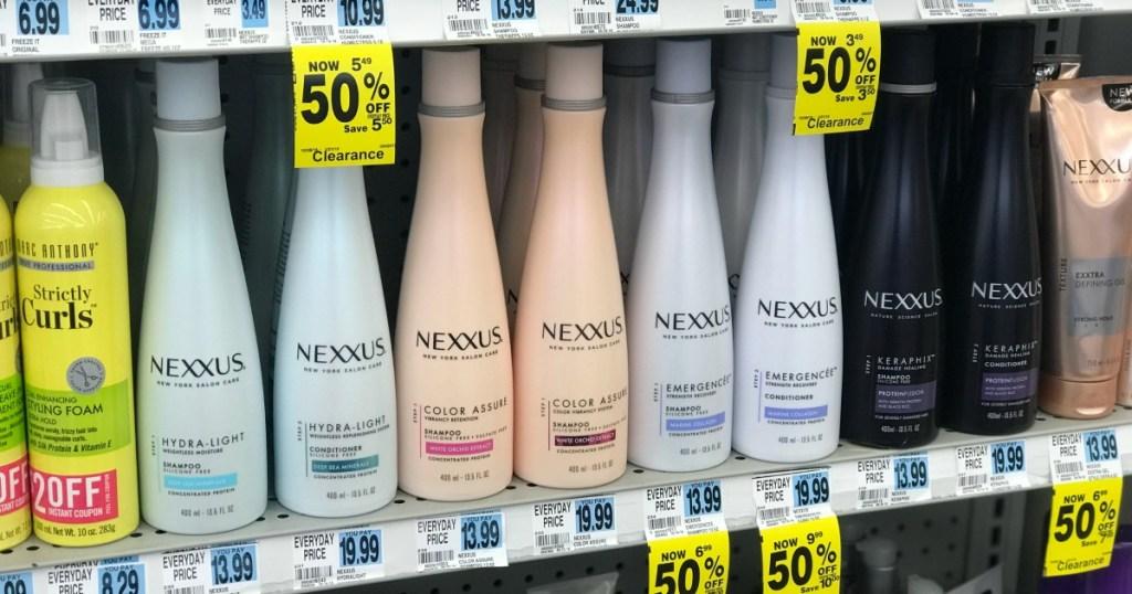 Rite Aid Nexxus Hair Care