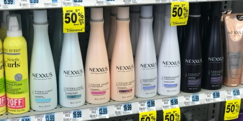 Inexpensive Nexxus Hair Care & CoverGirl Cosmetics + More at Rite Aid (Starting 12/9)