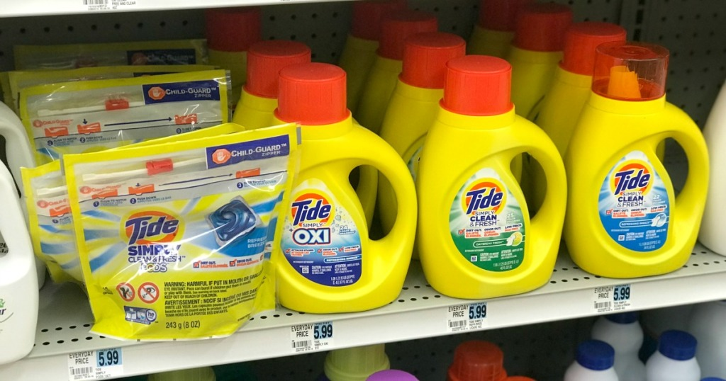 Rite Aid Tide Simply Detergent