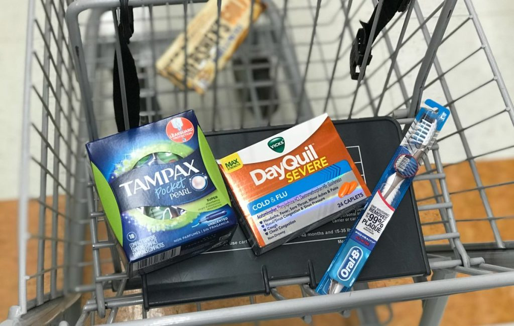 Rite Aid Tampax DayQuil, Oral-B