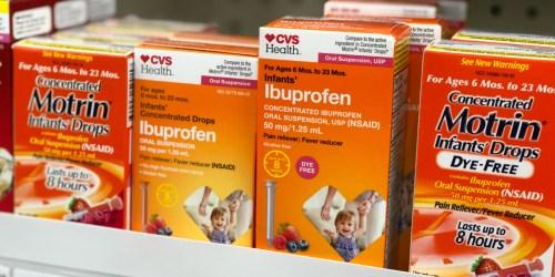 Infant Ibuprofen Products Recalled at Walmart, CVS, & Family Dollar