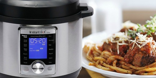 Amazon: Instant Pot Ultra 3 Quart 10-in-1 Pressure Cooker Only $59.95 Shipped (Regularly $120)
