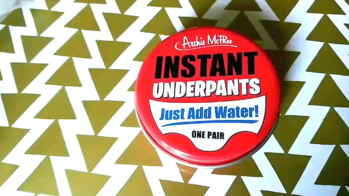 White Elephant Gifts, Gag Gifts, Funny Gift Ideas – Instant underpants