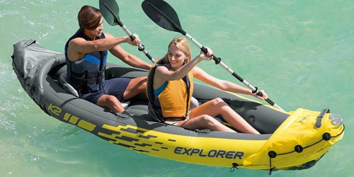Intex Explorer 2-Person Kayak w/ Oars & Pump Only $51.99 Shipped (Regularly $147)
