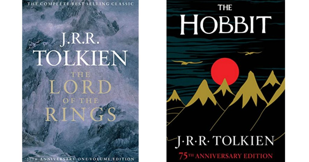 J R R  Tolkien Kindle Books Only $2 99 at Amazon (The Lord Of The