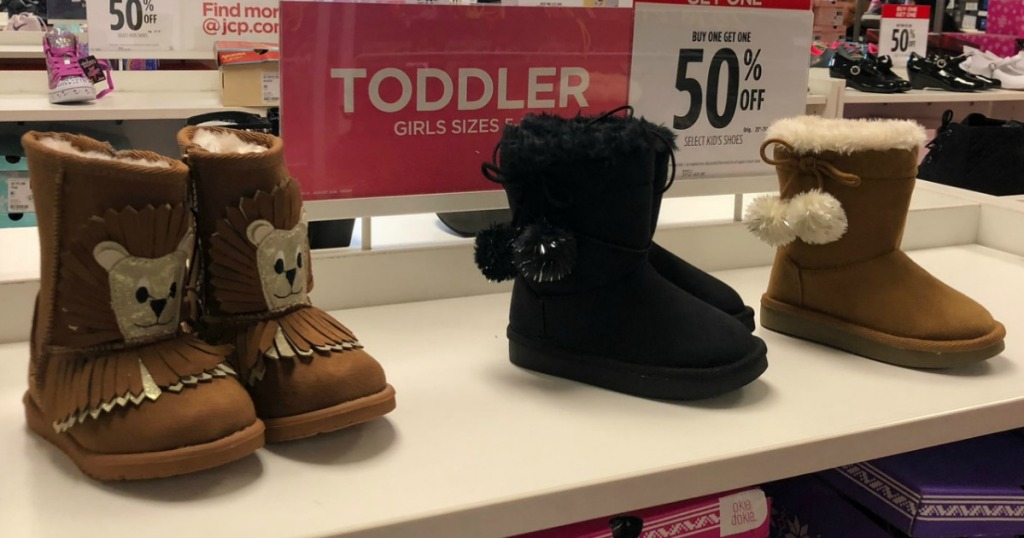60d7a584499be Girl s Boots as Low as  15 at JCPenney (Just buy 3 Pairs) - Hip2Save
